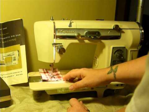 NIFTYTHRIFTYGIRL Vintage Montgomery Ward MW Signature Model URR 40 Best Montgomery Ward Sewing Machine Manual