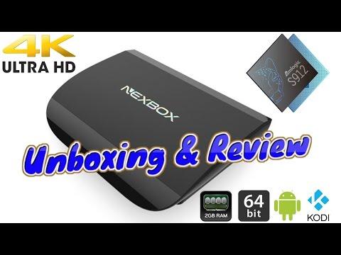 Осем ядрен ТВ бокс с Андроид 6.0 NEXBOX A1 TV 2G RAM +16G - KODI 16,1 12
