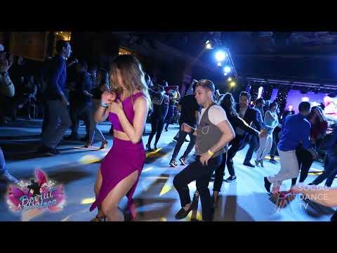 Rafael Barros & Hiba Kawoukji - Salsa social dancing   Beirut Salsa Loca 2018
