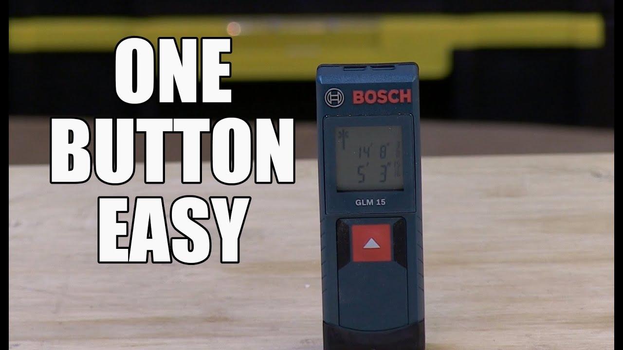 Bosch Glm 15 Laser Distance Measure Youtube Digital Meter Alat Pengukur Jarak 100 M