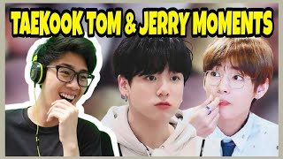 Download lagu Taekook - Tom and Jerry Moments Reaction