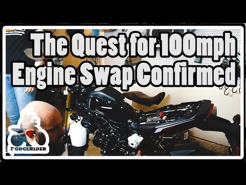 The Quest for 100mph - Engine Swap Confirmed!