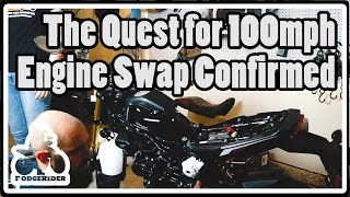 The Quest for 100mph - Engine Swap Confirmed! thumbnail