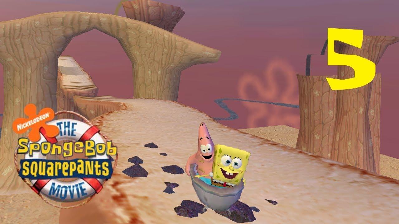 SpongeBob Movie Game - Part 5 (Rub A Dub Dub, Slip Slide In The Tub ...