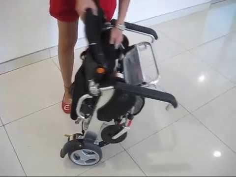 KDSmartchair Foldable Power Wheelchair InScootercom