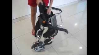 KD-Smartchair Foldable Power Wheelchair (InScooter.com)