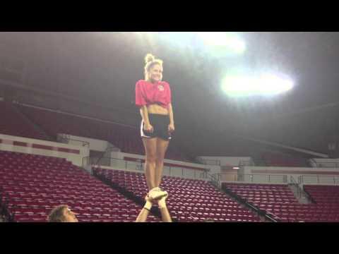 UGA Cheerleading Practice 11.26.2012