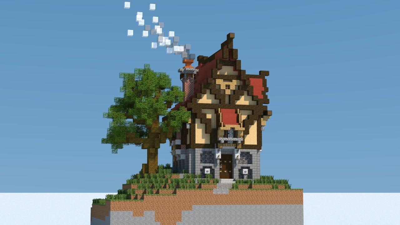Minecraft Fantasy Medieval House