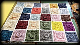 How To Crochet Granny Square - The Granny Pop-Up | BAG O DAY CROCHET TUTORIAL #528