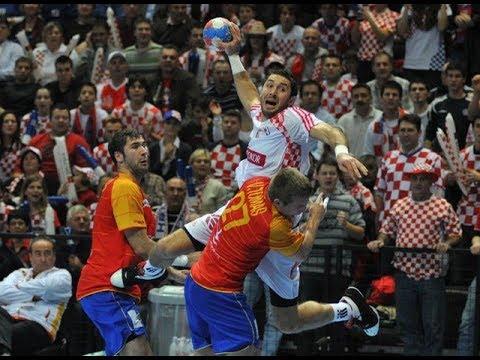 Croatia Spain Handball