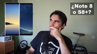 ¿Galaxy Note 8 o Galaxy S8 Plus?   Mis impresiones en español
