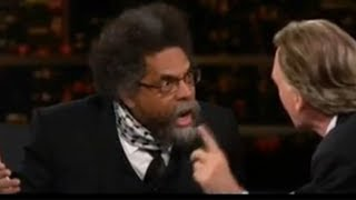 Bill Maher And Cornel West BRAWL Over Hillary Clinton