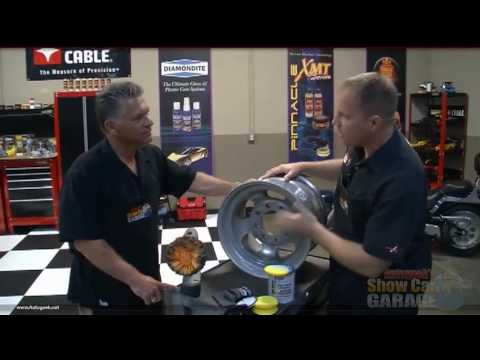 How To Polish Aluminum Wheels To Look Like Chrome Youtube