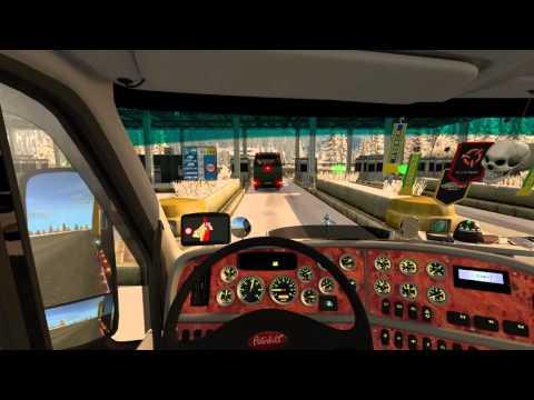 Euro Truck Simulator 2 World Of Trucks Online Work Peterbilt 387 Road From Linz to Klagenfurt