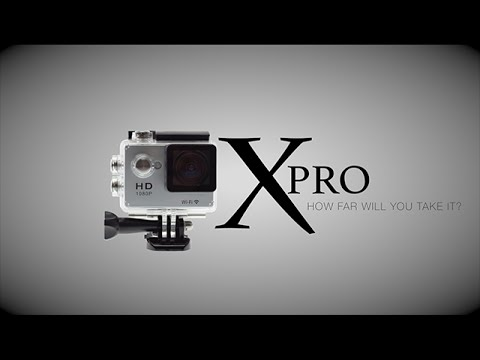 X PRO action camera