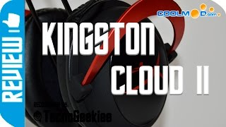 Mejores cascos gaming  PC PS4 Xbox One: HyperX Cloud II Español - CoolMod
