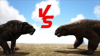 Baixar Sabertooth VS Purlovia    Ark Battle