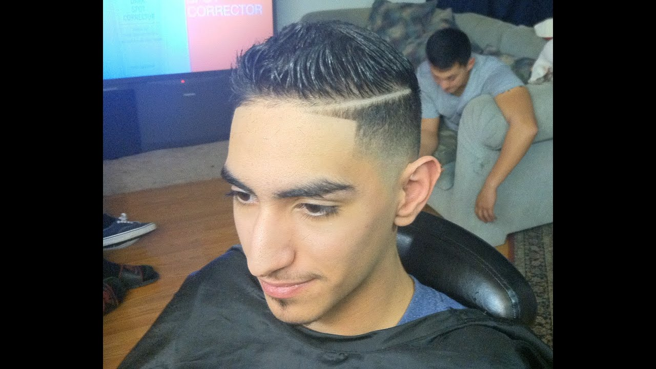 2013 combover, comb over hairstyle, comb over fade, scissor trim
