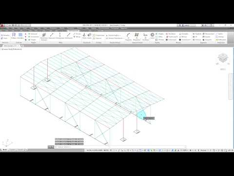3DR.STEEL (Industrial Buildings) Tutorial Video
