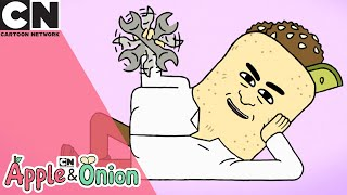 Apple & Onion | Fix It Falafel | Cartoon Network UK
