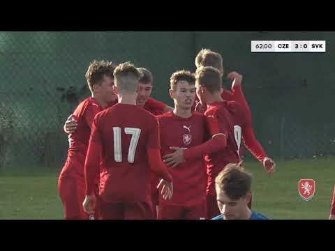 SESTŘIH: Reprezentace U16 porazila Slovensko 3:0