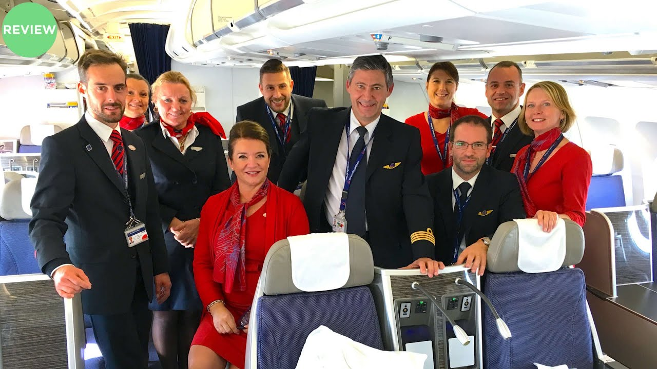 Brussels Airlines A330 300 Business Class Review
