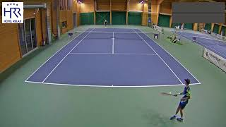 Jonáš Forejtek vs  Karol Drzewiecki 6 11 2017 ITF Futures Milovice   muži