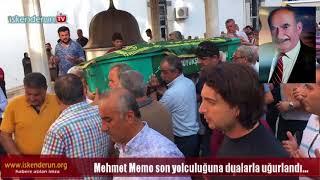 Mehmet Memo'ya son veda…