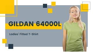 Gildan 64000L Ladies
