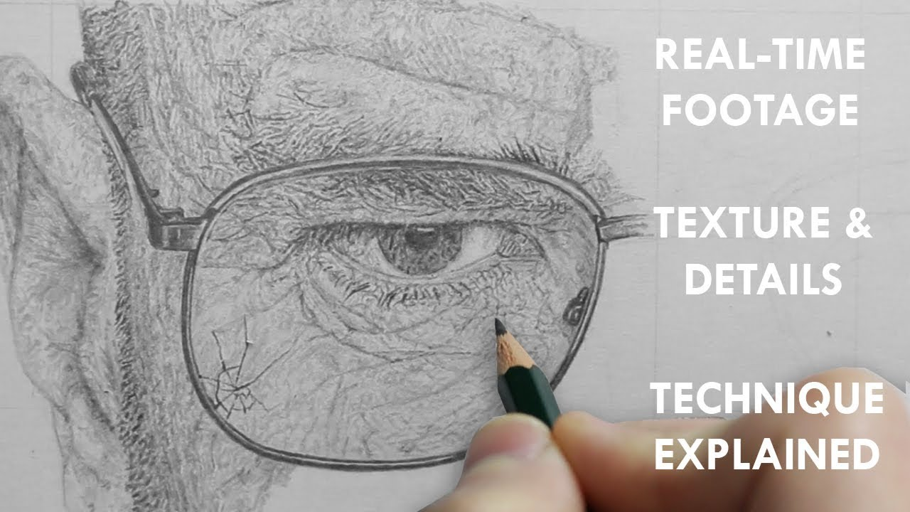 Realistic Texture Art Drawing