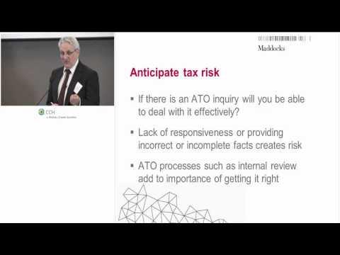 2014 06 24   Tax Risk Workshop Webcast v2