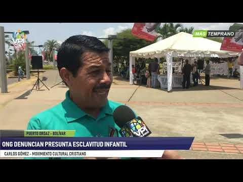 Venezuela- ONG denuncian presunta esclavitud infantil- VPItv
