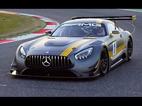 Mercedes Amg Gt3 Engine Sounds Great Top Speed Commercial Hd Carjam 2016 Youtube