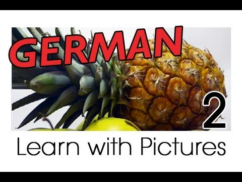 learn german german fruit vocabulary youtube. Black Bedroom Furniture Sets. Home Design Ideas