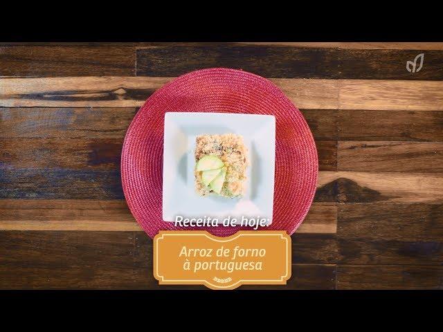 Receitou - Arroz de forno à portuguesa