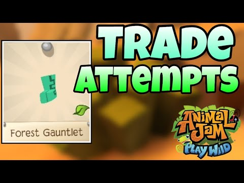 [AJPW] Forest boots trade attempts || Animal jam play wild [Synder]