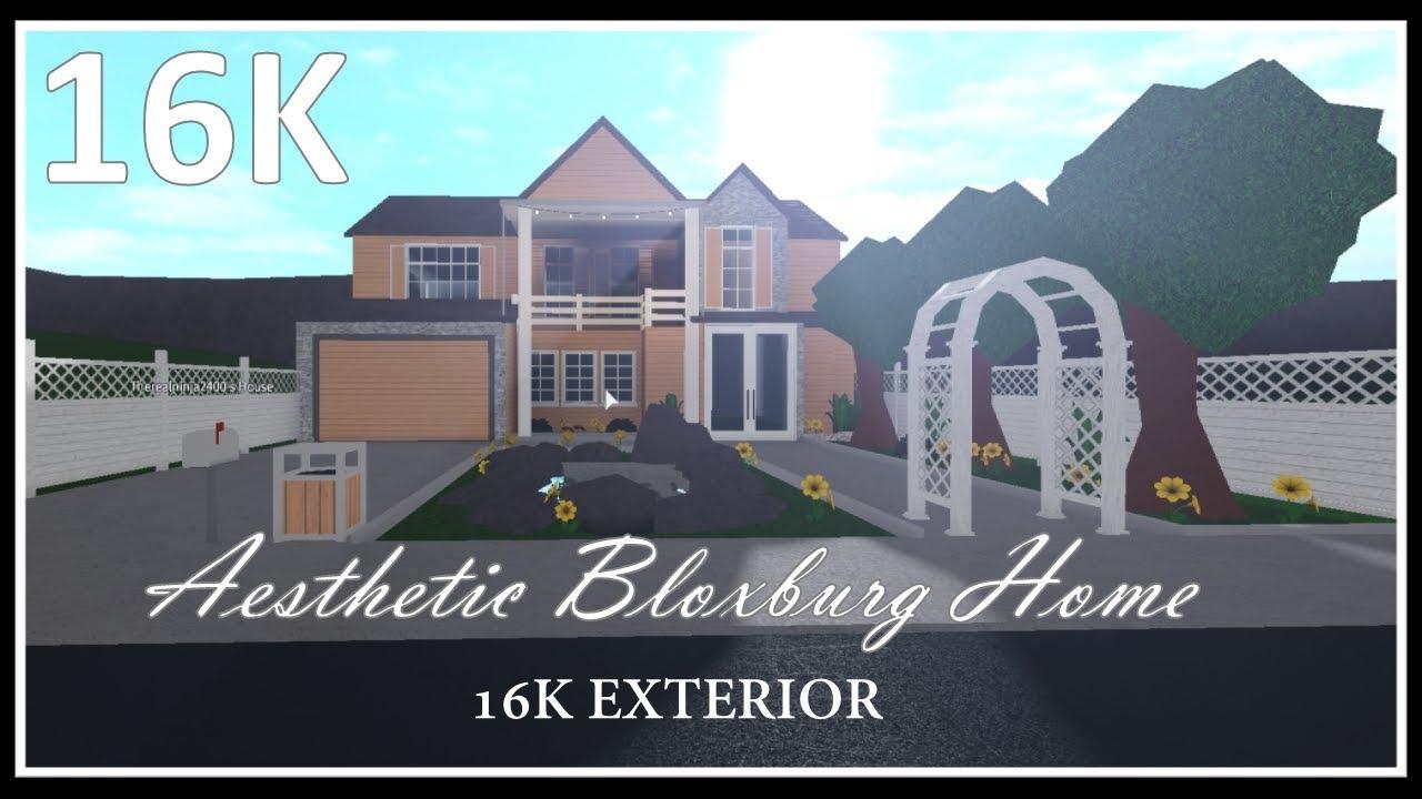 Bloxburg House Exterior 2 Story - Hd Football