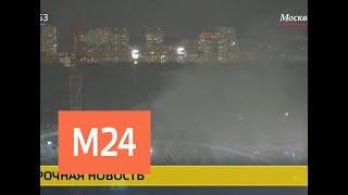 Очевидцы сообщают о пожаре в складском помещении на Сокольническом валу - Москва 24