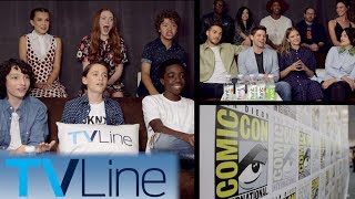 Stranger Things, Riverdale, Supergirl, More Casts Get Crazy!   Funniest Comic-Con Moments   TVLine