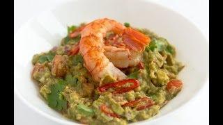 Гуакамоле с креветкой (guacamole) - видео рецепт Личный Повар