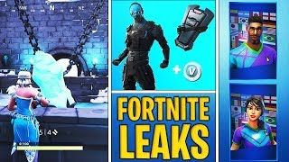 *NEW* Fortnite Leaks: SNOWFALL SKIN Leaked, Cobalt Starter Pack, Soccer Skins RETURN!