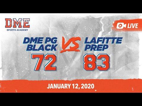 DME PG Black vs Lafitte Prep