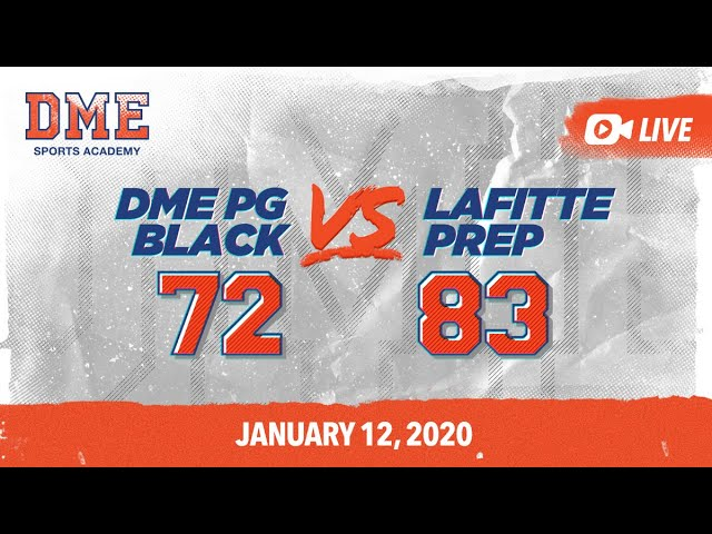 DME PG Black vs Lafitte Prep
