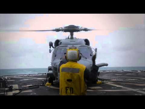First Delivery of MH-60R Naval Helicopter to Denmark