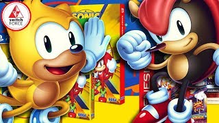Sonic Mania Plus ANNOUNCED FOR SWITCH! New Characters and Mode!