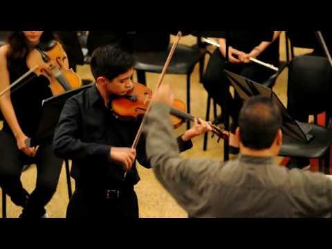Concierto para violín  Julius Conus. Interpretado por José Alejandro Hernández Chacón,