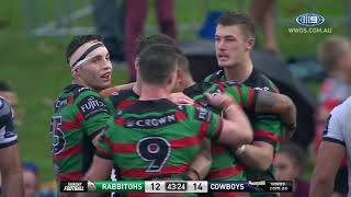 NRL Highlights: South Sydney Rabbitohs v North Queensland Cowboys - Round 16