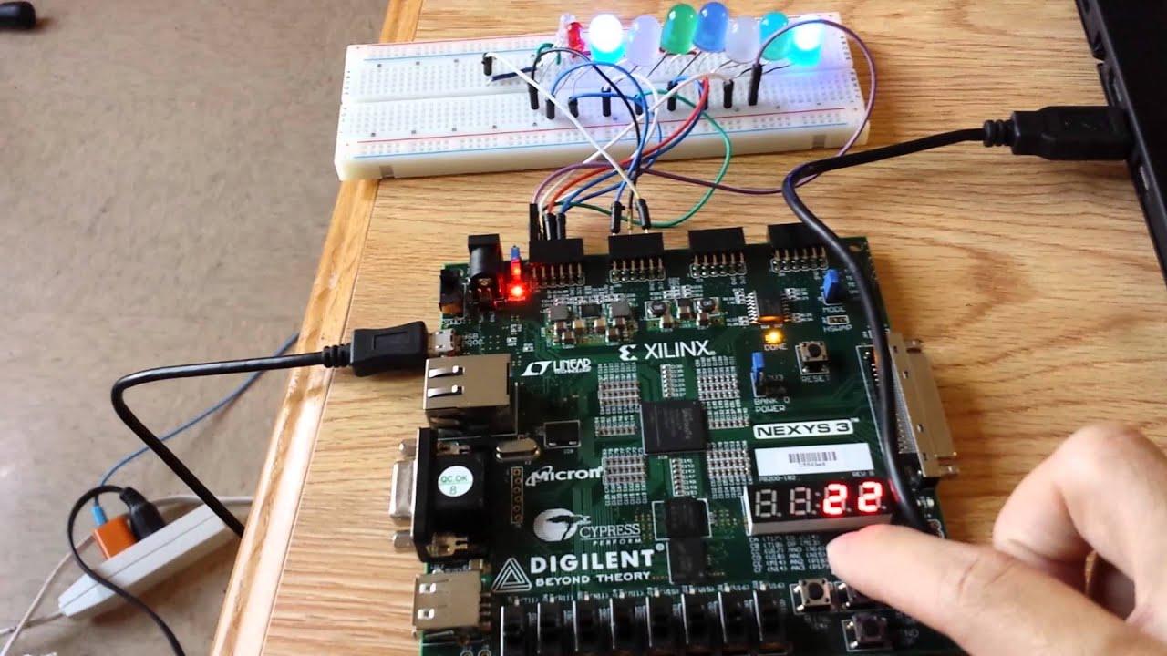 BitRunner FPGA Game: 4 Steps