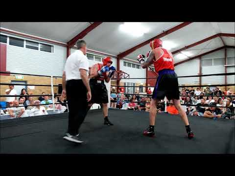 Billy Ching (Caloundra City Boxing) v Luke Baker (trained by Jamie Myer)