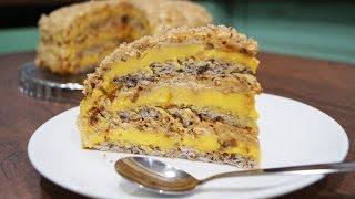 Египетский торт - простой рецепт приготовления